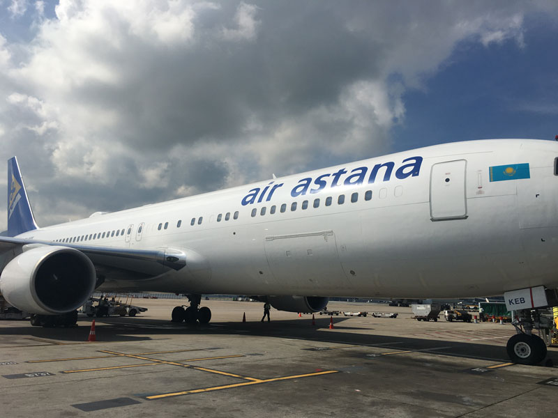 New Customer  - Air Astana